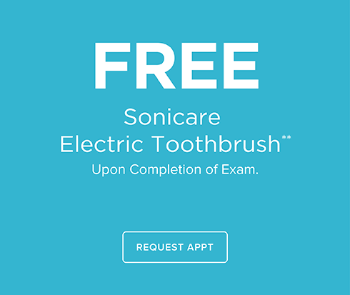Free Sonicare Electric Toothrbrush